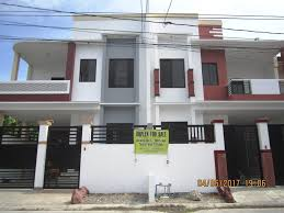 modern single attached house for sale in bf homes brand new