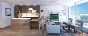 kitchen island and dining table the most out of small apartments using transformable spaces