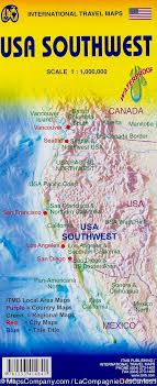 map us south map of south western usa 1 000 000 itm mapscompany