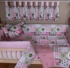 Farm Crib Bedding by Designer Crib Bedding Pattern With Birds John Deere Tractor Sets