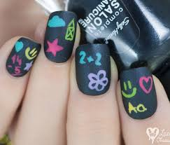 37 super cute back to nail art designs be modish
