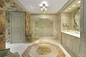master bath in luxury home with marble shower stock photo picture master bath in luxury home with marble shower stock photo 6733124