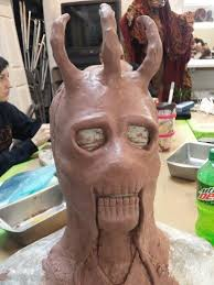 Makeup Schools In Orlando This Was The Start Of Sculpting My Demon King Project In Advanced
