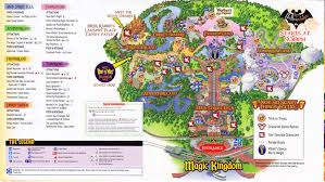 magic kingdom disney map magic kingdom at walt disney 2011 park map mnsshp