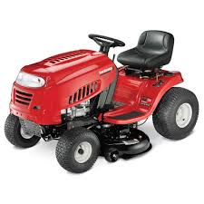 yard machines by mtd 7 speed lawn tractor