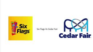 Six Flags Logo Six Flags Vs Cedar Fair 1k Subs Youtube