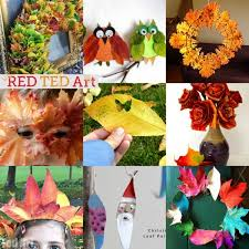 20 beautiful leaf crafts ted s
