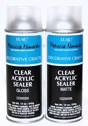 Krylon Transparent Spray Paint - artist spray varnish and sealers blair harvest tole krylon 1311