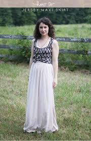Long Flowy Maxi Skirt Diy Jersey Maxi Skirt U2014 Megan Nielsen Design Diary