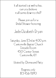 bridal invitation wording bridal shower invitation wording ideas kawaiitheo