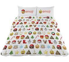 Double Christmas Duvet Buy Emoji Christmas Duvet Cover Set Double At Argos Co Uk Your