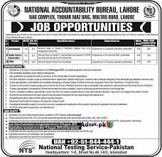 journalists jobs in pakistan newspapers urdu news how to apply jobs of nab national accountability bureau lahore