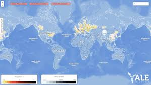 Where Is China On The Map by Air Pollution U0027s Hazy Future In South Korea Data Driven Yale