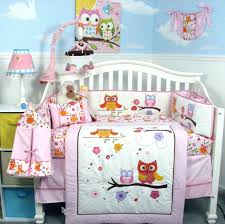 Circo Owl Crib Bedding Circo Owl Bedding White Bed
