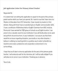 job application letter for teacher templates 10 free word pdf