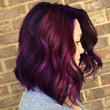 25 red purple hair color ideas burgundy hair