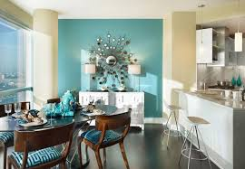 Brown Dining Blue Room 22 Ideas To Use Turquoise Blue Color For Modern Interior Design