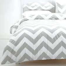 light gray and white duvet cover grey white duvet cover gray and white chevron duvet cover