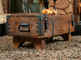 Wohnzimmertisch Jumbo Alte Truhe Kiste Tisch Shabby Chic Holz Beistelltisch Holztruhe