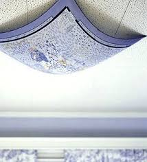 fluorescent light covers fabric 8 ways to cover ugly light fixtures curbly