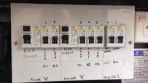 typical australian domestic switch board youtube