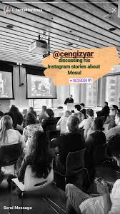 using stories for journalism at instagram in nyc u2014 cengiz yar