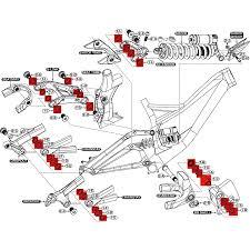 enlarged image demo specialized 9891 5270 bearing kit for demo 8 2011 12 bike24