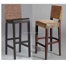 set of 4 bamboo rattan bar stools modern stools wicker bar