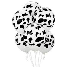 cow print balloons birthdayexpress