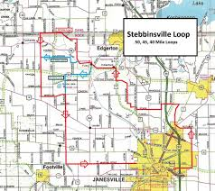 Janesville Wi Map Local Rides