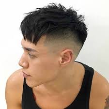 long hair sweeped side fringe shaved best fringe hairstyles for men the idle man