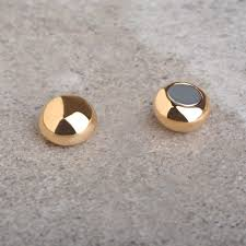 magnetic gold stud earrings gold plated magnetic stud men earrings earrings for men