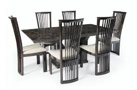 black marble dining table set mocha marble dining set the london marble company