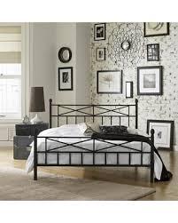 Metal Platform Bed Frame Sweet Deal On Christel Metal Platform Bed Frame Black