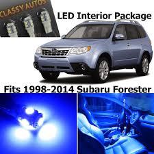 blue subaru forester amazon com classy autos blue led lights interior package for