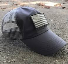 Flags Made In Usa Tactical Mesh Back American Made Hat With Velcro American Flag