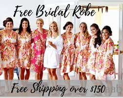 bridesmaids robes cheap bridesmaids robes kimono bridal robe bridesmaid gifts by aaberi