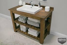 rustic bathroom cabinets vanities rustic bathroom vanity kreg tool company