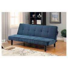Parker Sofa Mibasics Parker Modern Style Futon Sofa In Teal Target