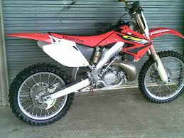 qld 2003 honda cr 250 dirt bike just commodores