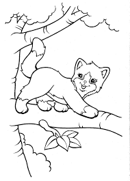 kitten coloring pages to print print coloring image lisa frank unicorns and coloring books