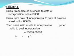 profit prior to incorporation ppt video online download