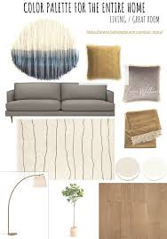 how to create a color palette for your whole home sea interior