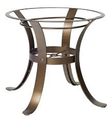 cascade dining table base woodard furniture
