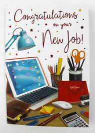 Congrats On New Job Card Congratulations On Your New Job Card Luxury Quality Verse Well