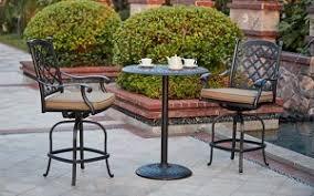Pub Patio Furniture Furniture Dining Set Cast Aluminum 30