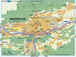 Austria Map Innsbruck Map Toursmaps Com