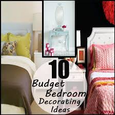 Bedroom Decorating Ideas On A Budget Diy Bedroom Decorating Ideas On A Budget For House