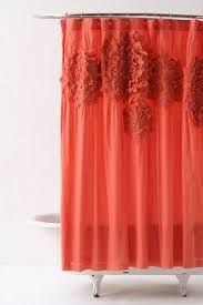 Orange And Blue Shower Curtain Bright Shower Curtains Foter
