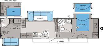 bunkhouse fifth wheel floor plans strikingly idea floor plans for jayco 5th wheels 7 eagle fifth wheel